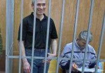 Платон Лебедев и Михаил Ходорковский. Фото АР