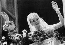 Князь Ренье и Грейс Келли. Фото с сайта www.bryllup.dk
