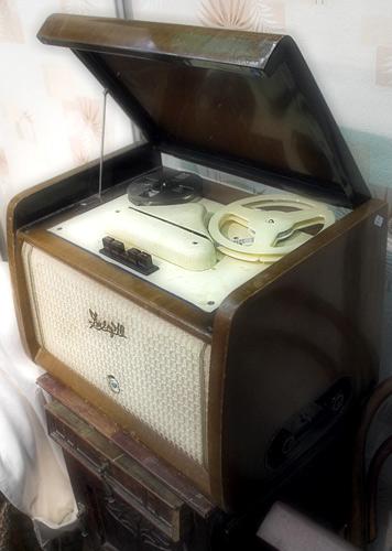 """Магниторадиола  """"Днепр """". магниторадиола.  Москва. магнитола. блошиный. ретро. рынок.  2005. По запросу связь/радио..."""