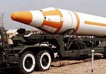Баллистическая ракета. Фото с сайта www.iss.niiit.ru