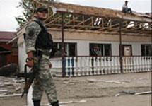 В Чечне убиты трое военнослужащих из России.