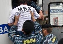 Задержание сторонников МБХ. Фото Рустема Адагамова (drugoi.livejournal.com)