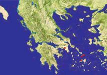 Карта Греции. Фото с сайта geopoesia.ru