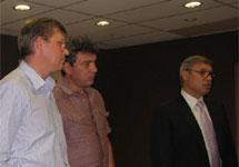 Рыжков, Немцов и Касьянов. Фото В.Васильевой