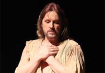 """Сцена из спектакля """"Иисус Христос - суперзвезда"""". Фото: rock-opera.ru"""