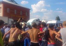 Волнения в Пугачеве 08.07.2013. Фото Людмилы Россенко