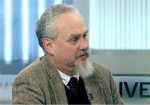 """Профессор Андрей Зубов. Кадр телеканала """"Дождь"""""""