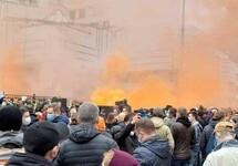 Акция протеста у Конституционного суда Украины. Фото: УНИАН