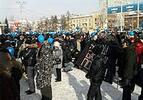 Митинг в защиту Байкала в Иркутске. Фото red_douglas.livejournal.com