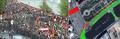 18:26 Второе рассечение толпы после прорыва полицией заграждений