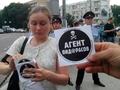 Провокатор на митинге в честь 50-летия Ходорковского. Фото Грани.Ру