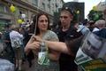Задержания на Арбате.  Фото Юрия Тимофеева/Грани.Ру