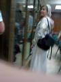 Евгения, жена Леонида Ковязина только что получила статус его защитника. Фото Дмитрия Борко/Грани.ру