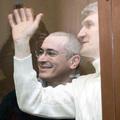 Михаил Ходорковский и Платон Лебедев в Хамовническом суде, 31 марта 2009. Фото Юрия Тимофеева.