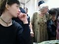 Людмила Алексеева и Саша Наумова (Духанина) в Замоскворецком суде 05.02. Фото Дмитрия Борко/Грани.Ру