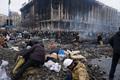 Майдан, 20 февраля 2014. Фото: Дмитрий Борко/Грани.Ру
