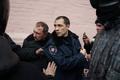 Пленные милиционеры на Майдане, 20 февраля 2014 Фото: Дмитрий Борко/Грани.Ру