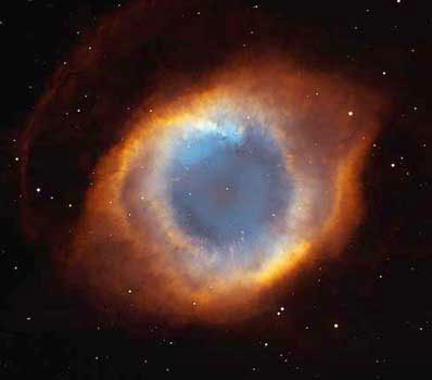 NGG 7293. Фото NASA / NOAO / ESA / The Hubble Helix Nebula Team / M. Meixner (STScI) / T.A. Rector (NRAO)