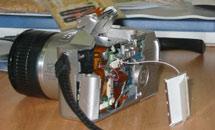 Разбитая фотокамера