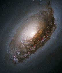 Галактика М64 - Дурной Глаз. Фото NASA и Hubble Heritage Team